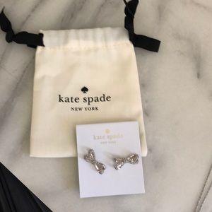 Kate Spade Bow Earrings NWT